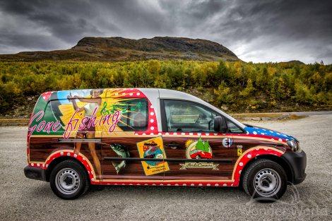 nordic campers car rental in Norway
