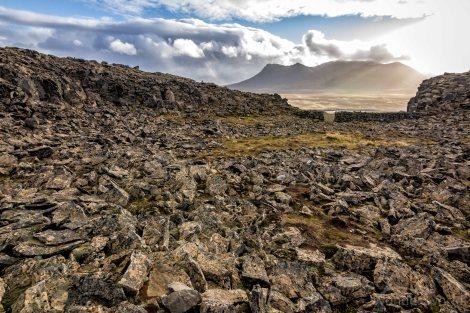 iceland-Borgarvirki-volcanic-plug