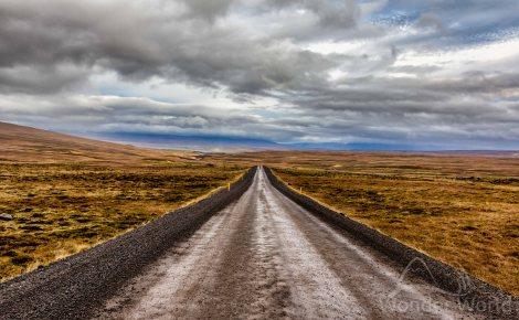 Uma estradinha na Islândia