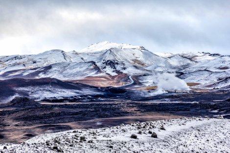 A vista do Hverfjall